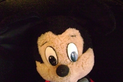 Mickey face after